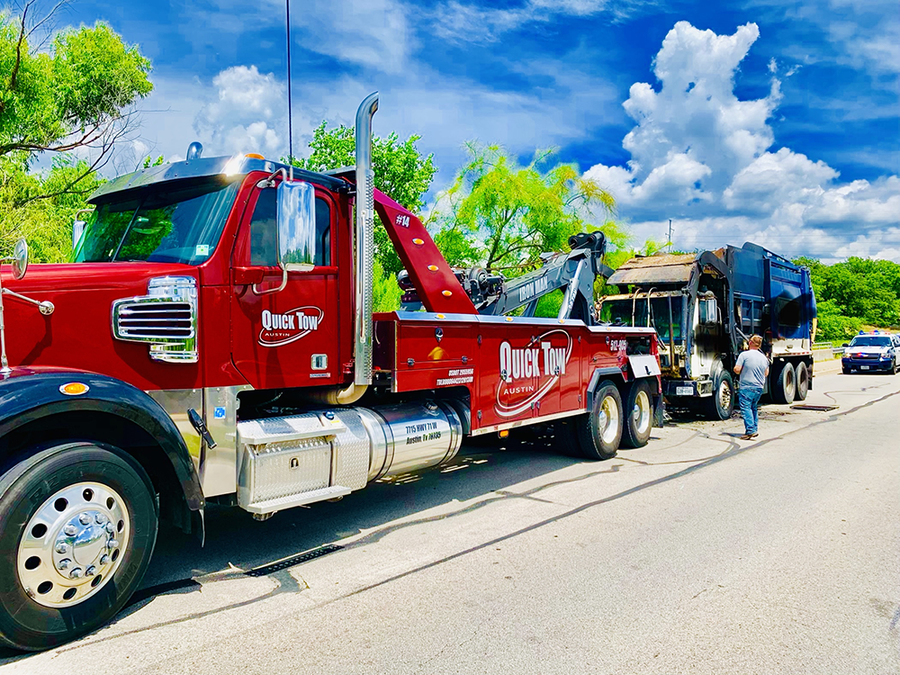 Towing in Round Rock, TX | Quick Tow Austin
