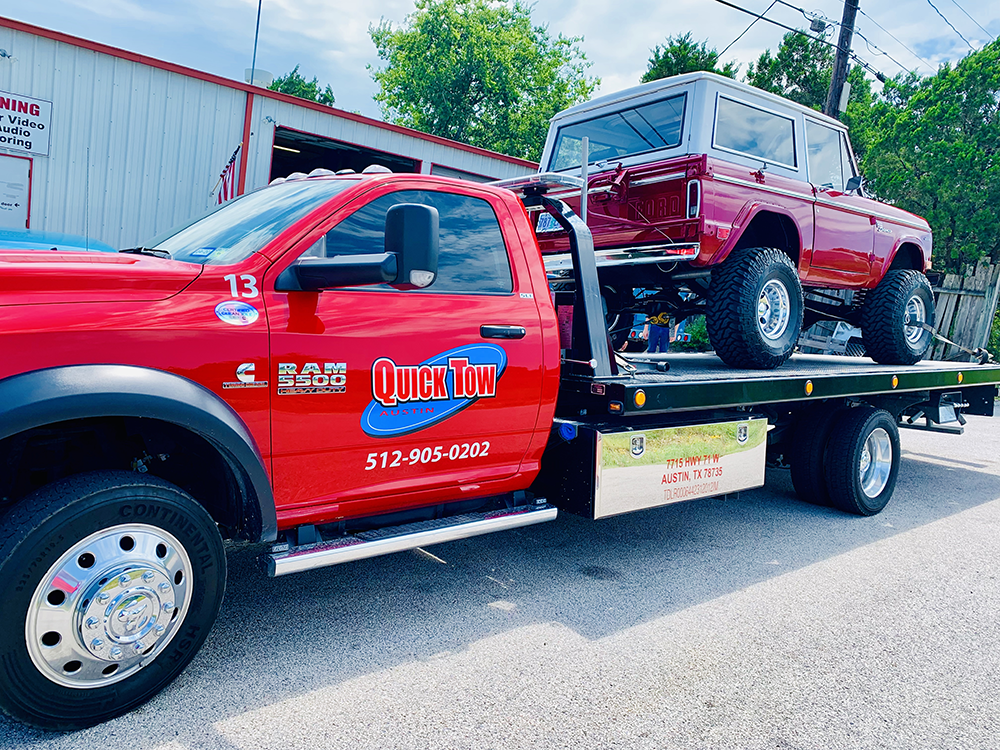 Towing in Kyle, TX | Quick Tow
