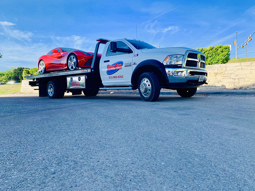 Towing in Pflugerville, TX | Quick Tow Austin